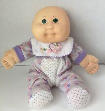 New ListingCabbage Patch Kids Babies 12� Bean Butt Baby Doll Bald, Green Eyes
