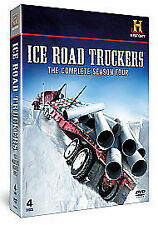 Ice Road Truckers - Series 4 (DVD, 2011, 4-Disc Set) (Brand New, Sealed)