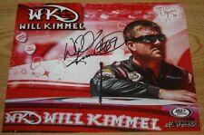 2016 Will Kimmel signed Happy Valentine's Day Ford Fusion Daytona ARCA postcard