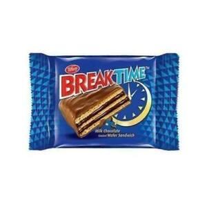 Break time chocolate tiffany pack 24 pcs sweets شوكولاتة ويفر بريك