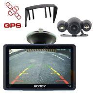 """XGODY 7"""" Voiture GPS Navigation 3D Carte Mise à jour Gratuit Sans fil Caméra 718"""