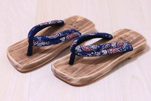 Besonders guter Qualität japanische Geta Holzschuhe aus Sandelholz bis Große 44