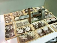 KEYSTONE Co. ~17 ANTIQUE 3D Photos & PERFECTSCOPE Stereograph