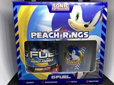 GFUEL Sonic's Peach Rings Collectors Box *SOLD OUT*