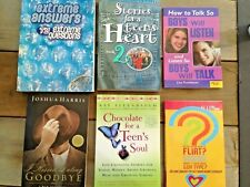 Lot of 6 Christian Teen Books - Relationships, Dating, Heart, Chocolate, Harris