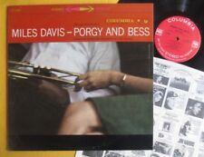 "Miles Davis, Columbia ""360 sound"" pressing Lp - Porgy & Bess"