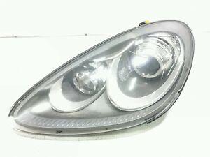 13 Porsche Cayenne Xenon Left Driver Side Headlight Damaged Lens 7P5941031BC