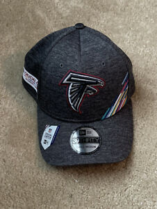 Atlanta Falcons New Era NFL Crucial Catch 39THIRTY Historic Logo Flex Hat S/M