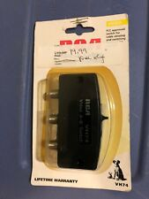 RCA Deluxe Cable 2- Way Switch Vh74 Video A-B Switch
