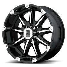 18 Inch Black Wheels Rims Ford Truck F 250 F 350 8x6.5 Lug XD Series XD779 18x9
