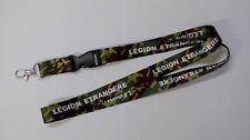 Porte-Clés lanière camouflage  LÉGION ÉTRANGÈRE tour de cou = 44 centimètres