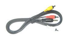 3.5mm Plug (4 Pole) To 3 RCA A/V Cable (5 FT)