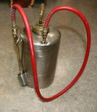 """B & G Sprayer 1 Gallon Stainless and Brass 9"""" Wand"""