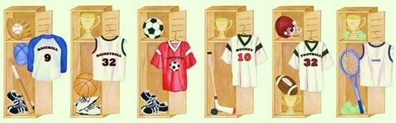 Mike and Valeries sports locker