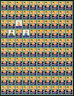 1940 WX103 Sheet of 100 - US Christmas Seals/Stamps Fault OG Mint MNH