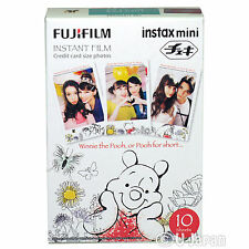 10 Fuji Instax Mini 8 Films 7s 50s 55i 55 Neo Instax Disney Pooh Japan Genuine