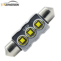 1PC CANBUS 39mm CREE LED White Car Interior Festoon Dome Light Roof Bulb 550LM
