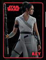 Topps Star Wars Digital Card Trader: Rise of Skywalker Red Rey Poster card cc839