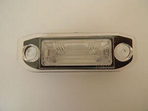 NEW REAR NUMBER PLATE LIGHT VOLVO S40 V50 S80 XC60 XC70 S60 V60 C70