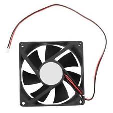 2 pin 80mm Desktop Case Computer PC CPU Cooler Cooling Fan Highspeed Black 12V E