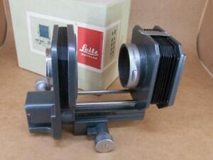 Leitz Leica Bellows II 16556 & Hood 16557 - boxed