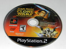 Star Wars The Clone Wars – Republic Heroes Playstation 2 PS2 Game Disc Only