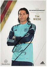 Originalautogramm - Tim Wiese (DFB AK 2012)