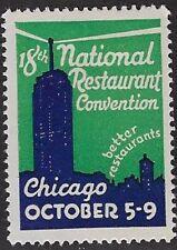 USA Cinderella: 1938 -18th National Restaurant Convention, Chicago - dw930