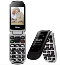 Cell Phone Unlocked with Big Sos Button Gsm & Stand Designed For Seniors -b845