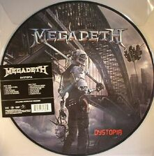 MEGADETH - Dystopia - LP Vinyl picture disc + MP3 download code - Brand New