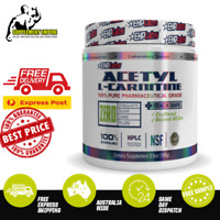 EHP LABS ACETYL L CARNITINE 100G UNFLAVOURED WEIGHT LOSS FAT BURNER EHP LABS ALC