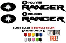 (#305) Polaris RANGER RZR 800 900 1000 XP ranger  team sticker decal emblem