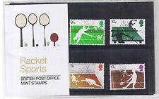 GB Presentation Pack 89 1977 Racket Sports 1977