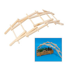 Wood DIY Craft Model Bridge Pathfinders Development Architecture for Kids N7