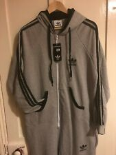 ADIDAS ORIGINALS FLEECE ONESIE ALL IN ONE PIECE JUMP SUIT XL SPEZIAL IAN BROWN