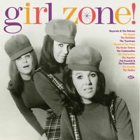 GIRL ZONE! 180g red vinyl LP Reparata & Delrons Ikettes Angelos Drake Sisters