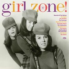 GIRL ZONE! 180g red vinyl LP Reparata & Delrons Ikettes Angelos Drake Sisters