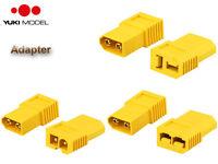 YUKI Model Amass XT60 Adapter XT60 Stecker <=> TRAXXAS/TAMIYA/Deans Buchse