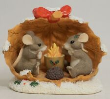 Charming Tails 97/13 Sharing A Warm And Cozy Holiday Mouse Couple Figurine