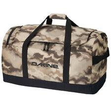 NWT DAKINE CREW 67L DUFFEL BAG $100 charcoal//lime zippers waterproof