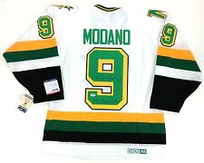 MIKE MODANO SIGNED 1991 STANLEY CUP MINNESOTA NORTH STARS JERSEY PSA/DNA COA