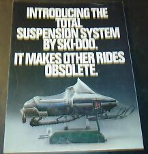 1981 SKI-DOO BLIZZARD SNOWMOBILE SALES BROCHURE 4 PAGES   (713)