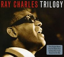 RAY CHARLES - 3 CLASSIC ALBUMS / BONUS TRACKS (3 CD SET / REMASTERED / DIGIPACK)
