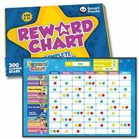 Magnetic Reward Chart for Children – 80+ Chores, Good Behaviour Chart for Kids
