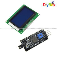 5V 12864 LCD Display 128x64 Dots Blue 1602LCD IIC/I2C/TWI/SPI Serial for Arduino