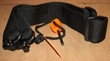"1 ½ "" Mil-spec Nylon Rifle sling  2 Point attachment with QD button swivels."