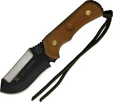 TOPS XCEST Emergency Support Bravo Fixed Blade Brown Knife + Survival Kit XCESTB