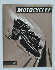 ANCIENNE REVUE MOTOCYCLES N° 83 - 15 SEPTEMBRE 1952 *