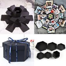 Surprise Explosion Box DIY Scrapbook Photo Album For Valentine's Wedding Gift