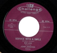 "THE KUF-LINX -""SERVICE WITH A SMILE"" GREAT 45"